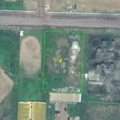 Terreno em frente ao Hospital Universitario, medindo: 1.890m²