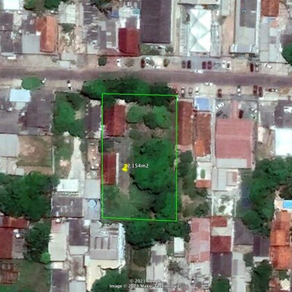 Terreno em frente a clinica IOM - Laguinho